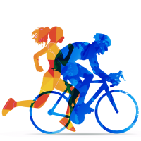 ride and run logo